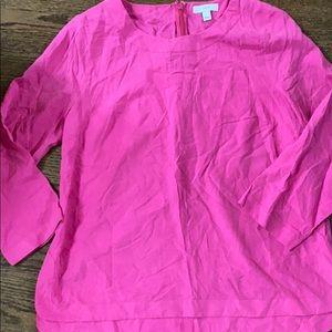 Jcrew size 8 silk blouse